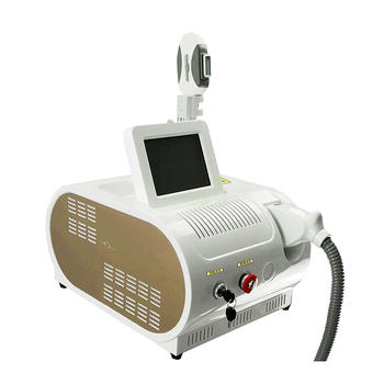 Portable E-light Three-wavelength Beauty Machine For Hair Removal And Skin Rejuvenation